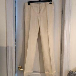 Louis Vuitton Cream Trousers